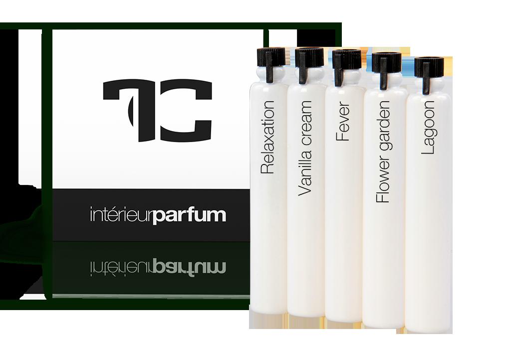 Sada 5 vzorků vůní interiérových parfémů