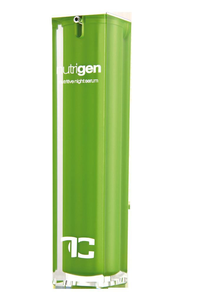 CANNABIUM nutrigen 2in1 noční pleťový krém & sérum v jednom s konopným olejem