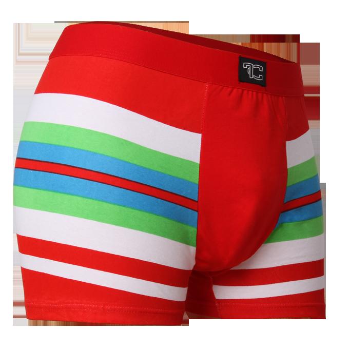 Boxerky, červeno/zeleno/modré