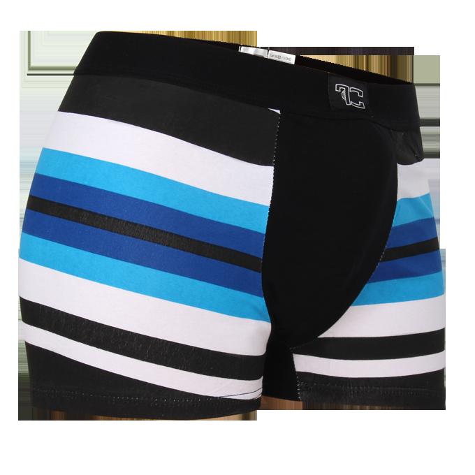 Boxerky, černo/modré