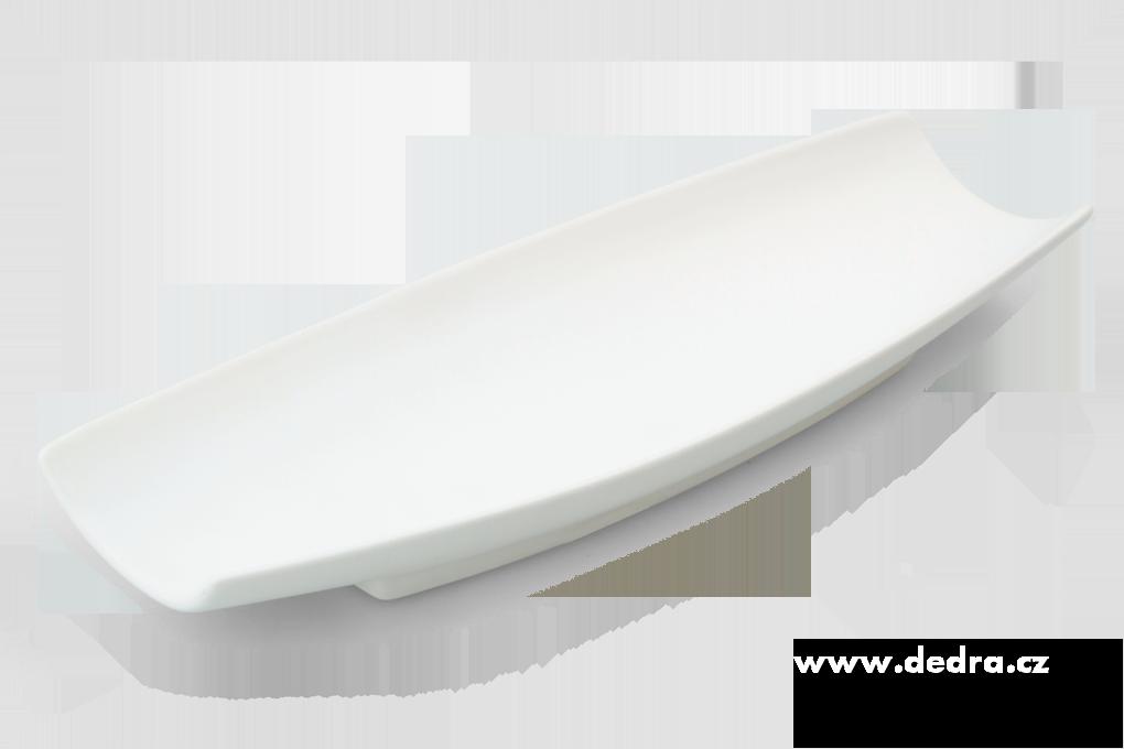 QUADRAT - bílý, elegantní podlouhlý