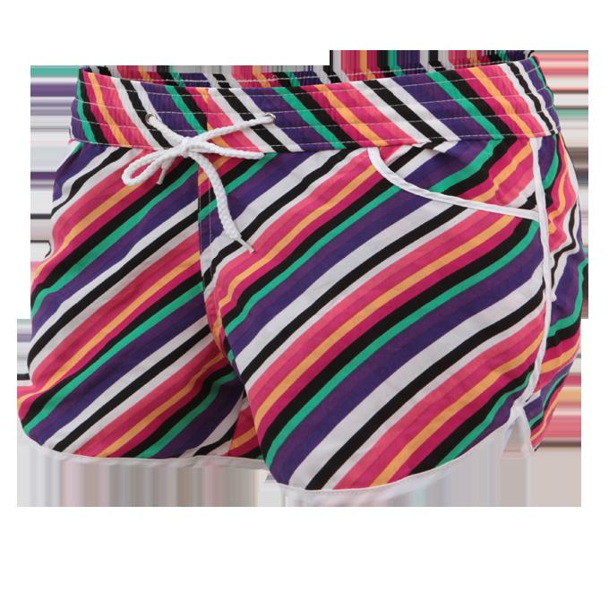 NICOLE dámské šortky multicolor stripes velikost M