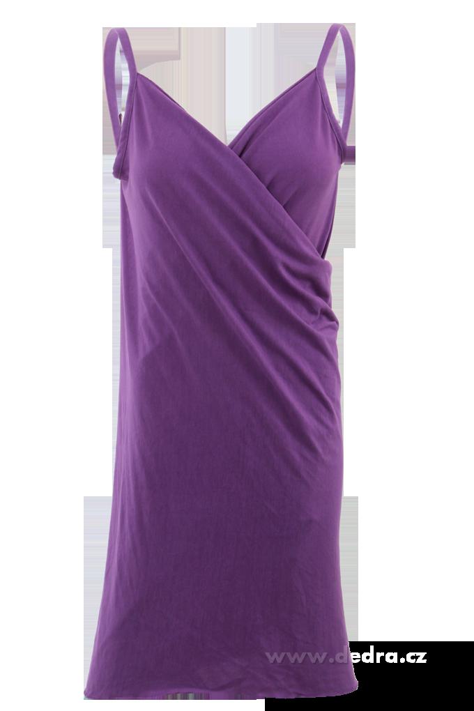 PAREONCCINI fialové zavinovací šaty