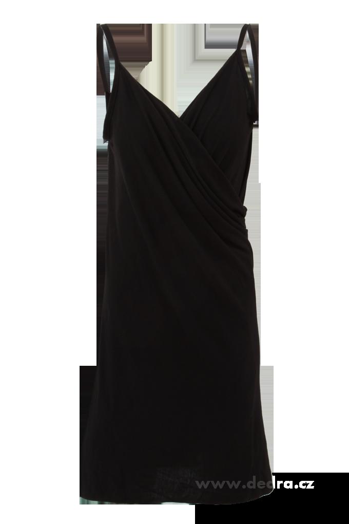 b6e8d844d2f PAREONCCINI černé zavinovací šaty - Vaše DEDRA - oficiální stránky