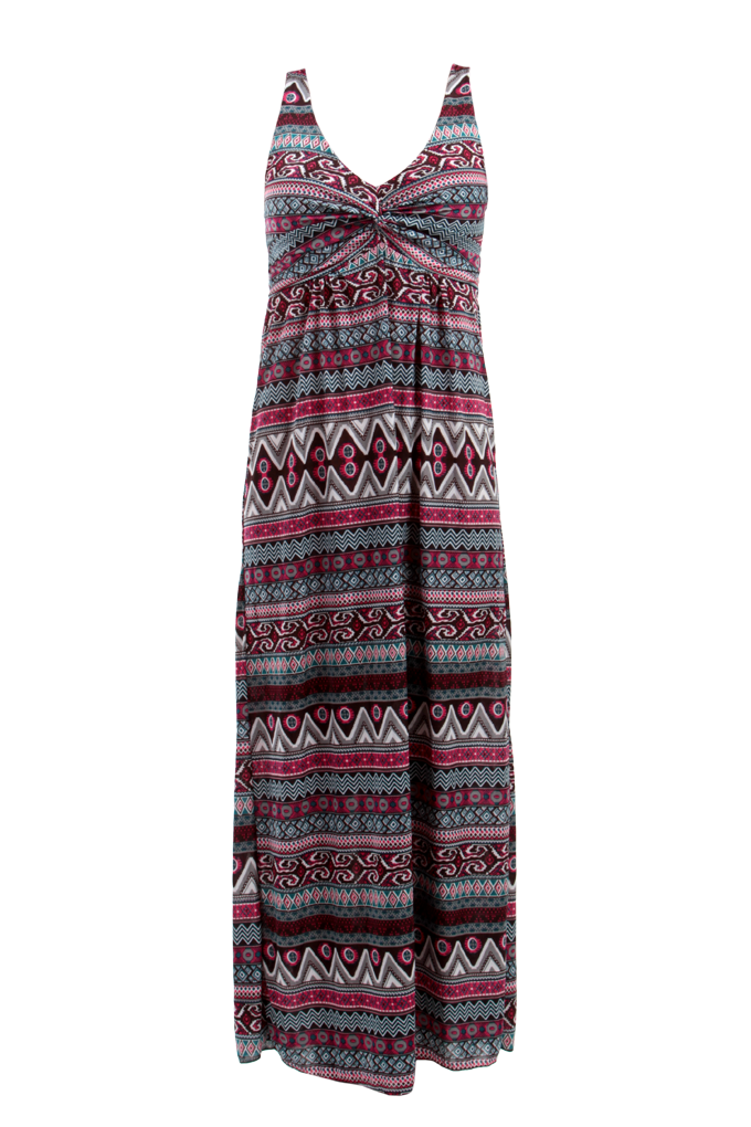 LACEY dlouhé šaty orientální motiv velikost M