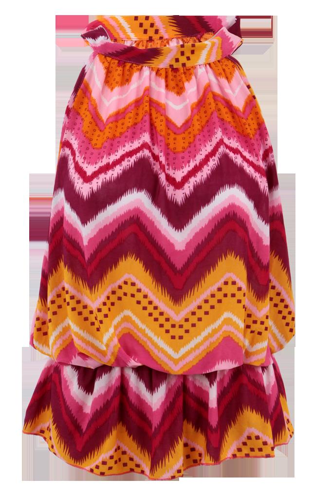 SABELIA tunika/top vícebarevný motiv velikost M