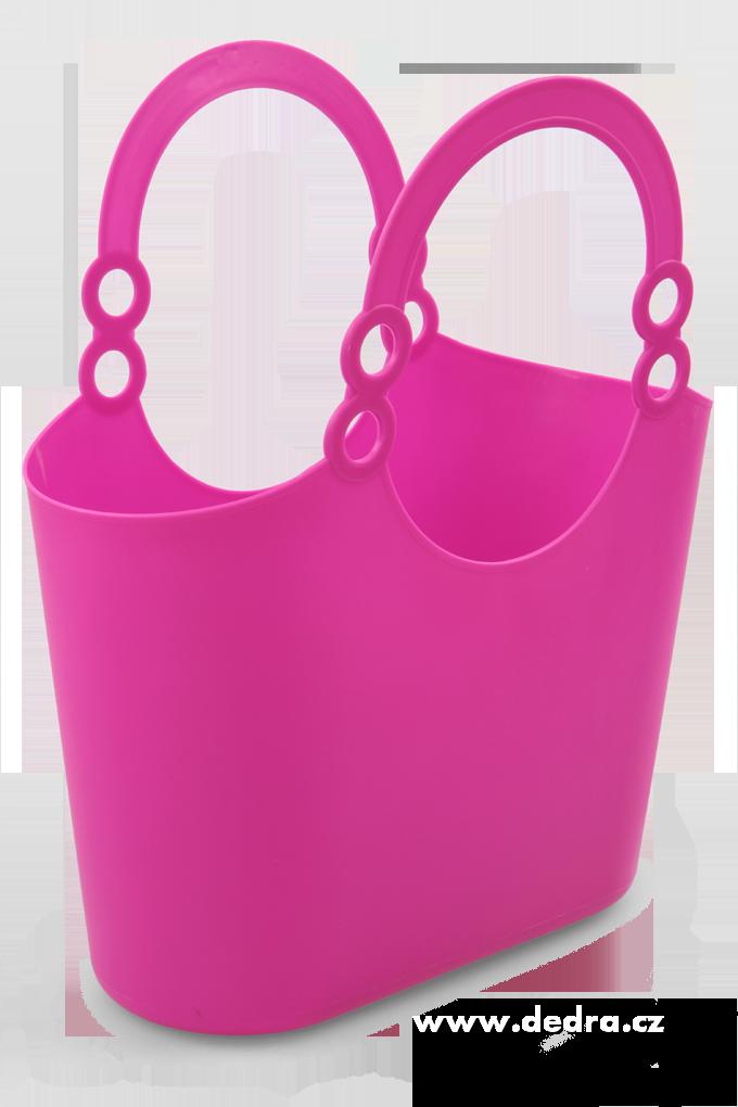 ABBIE stylová taška, z odolného plastu