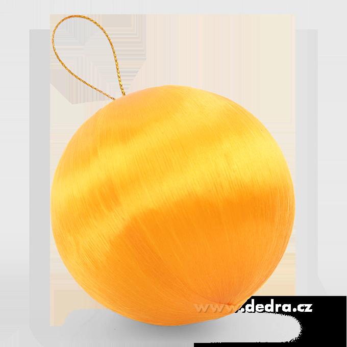 DA79886-6 ks saténové gule oranžové