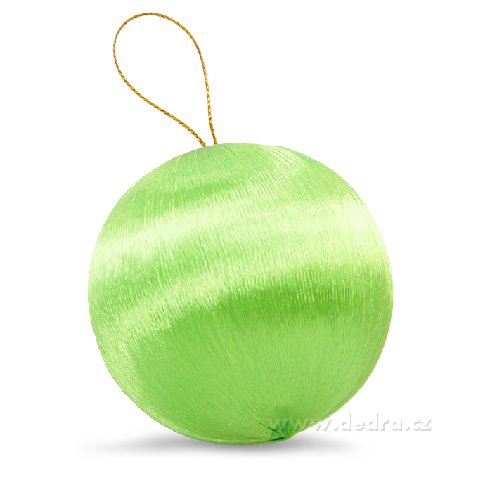 DA79888-6 ks saténové gule jasne zelené