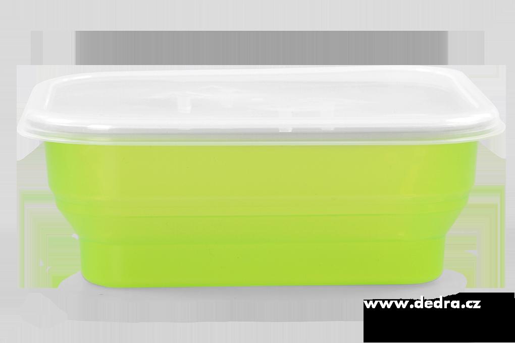 Boxík svačinka 950ml, zelený