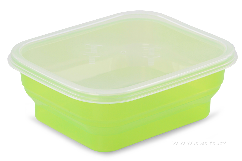 Boxík svačinka 950ml zelený