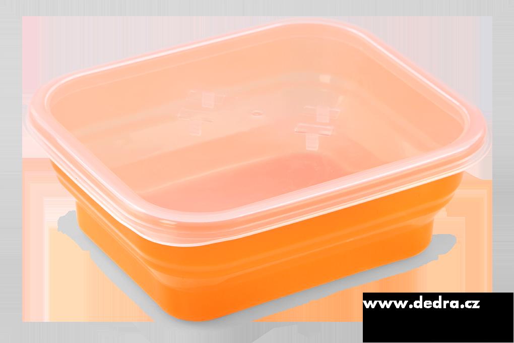 Boxík svačinka 950ml oranžový