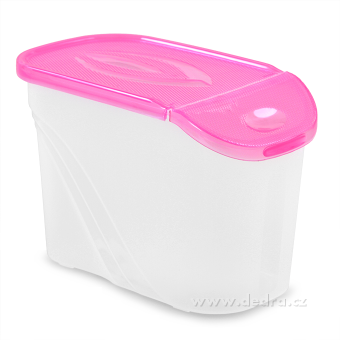 BOX s víkem 0,75 l růžová