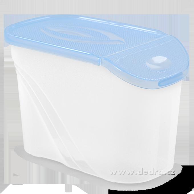 BOX s víkem 0,75 l modrá