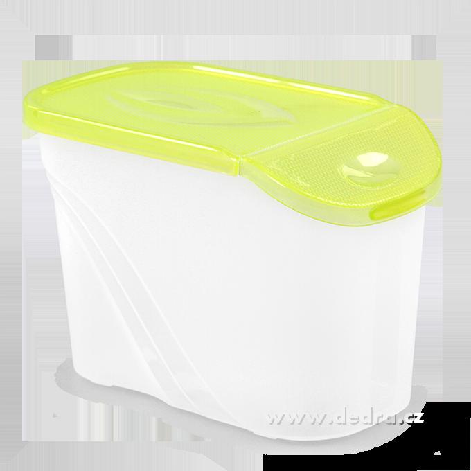 BOX s víkem 0,75 l zelená
