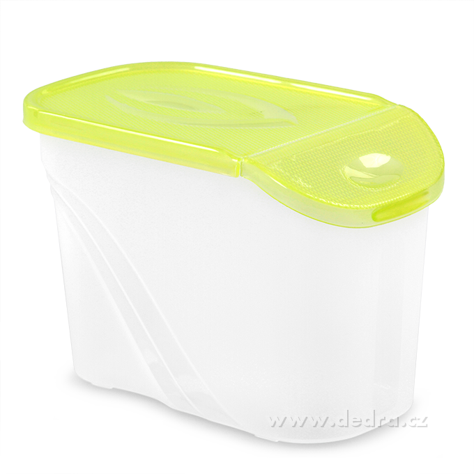 BOX s vekom 0,75 l - zelená