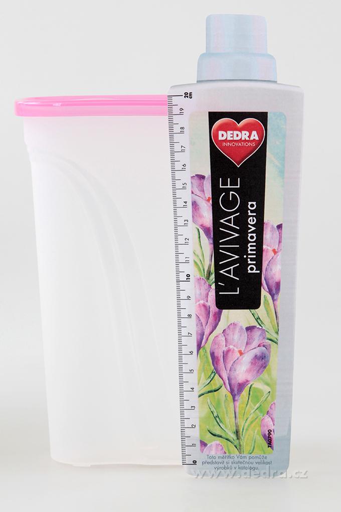 BOX s víkem 1,3 l, růžová