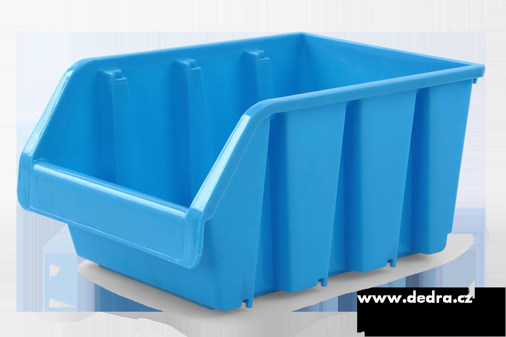Štosátor úložný box stohovatelný modrý