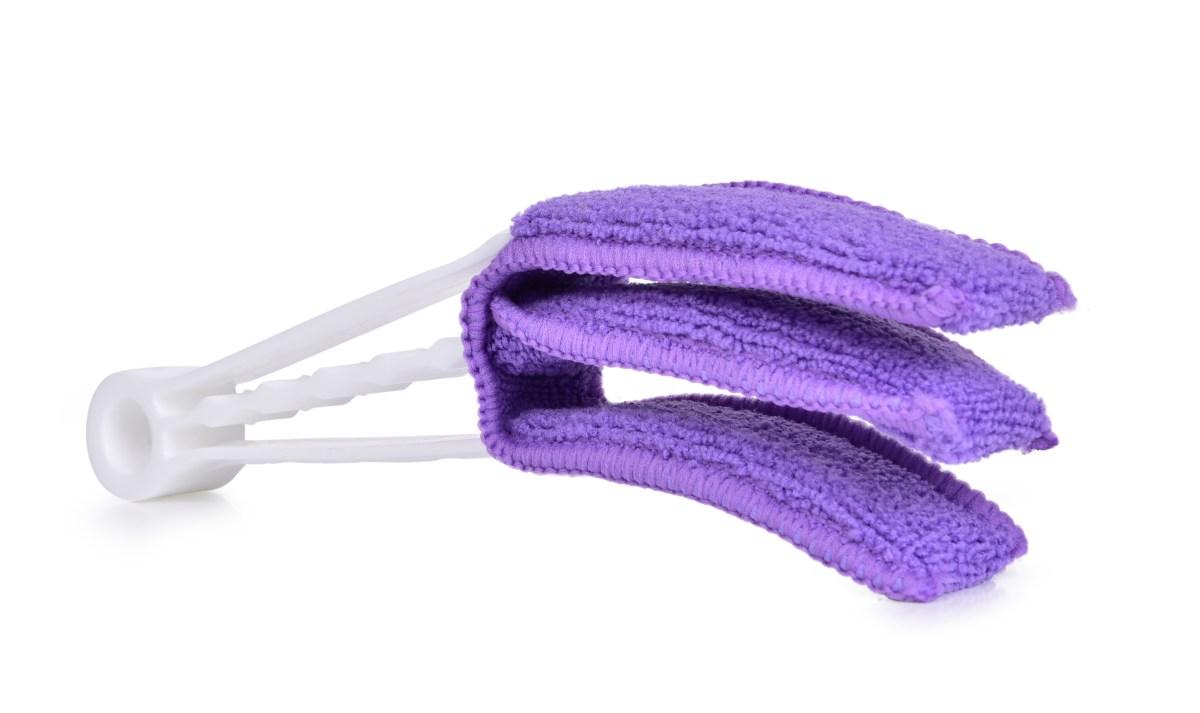 ¯ALUZJATOR - szczypce do czyszczenia ¿aluzji fioletowe