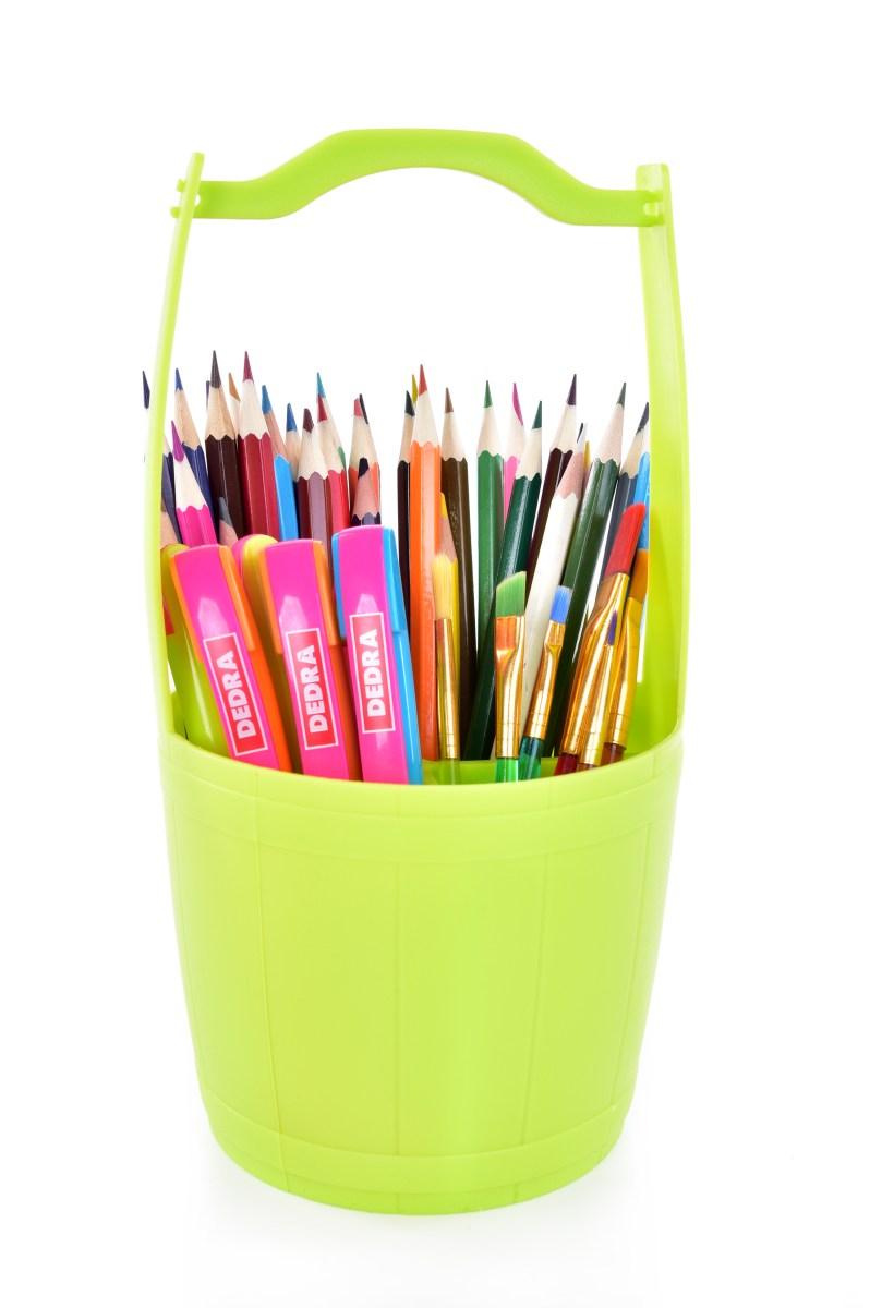 PŘÍBORNOŠ stojan na příbory a psací potřeby