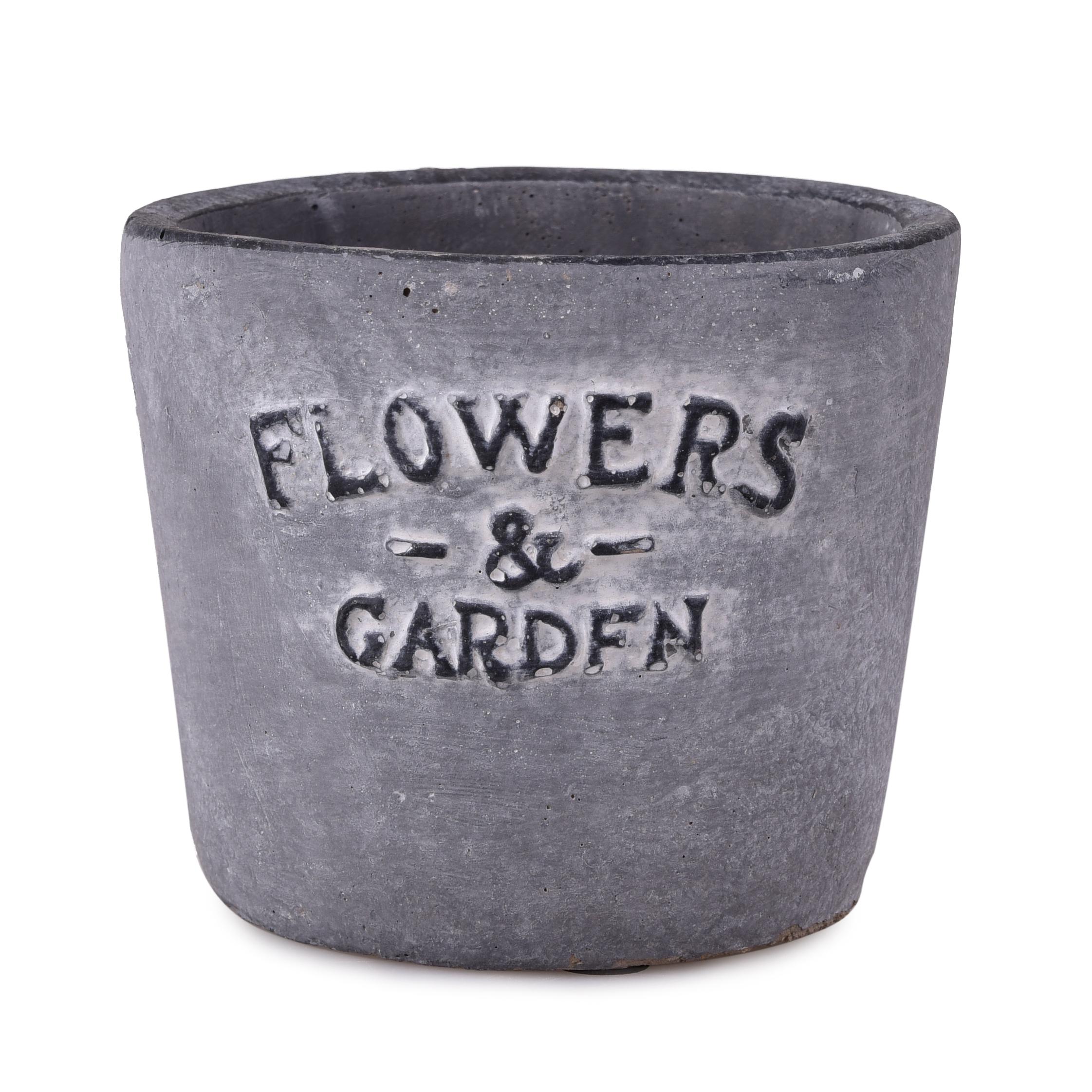 Masivní keramický, obal na květináč