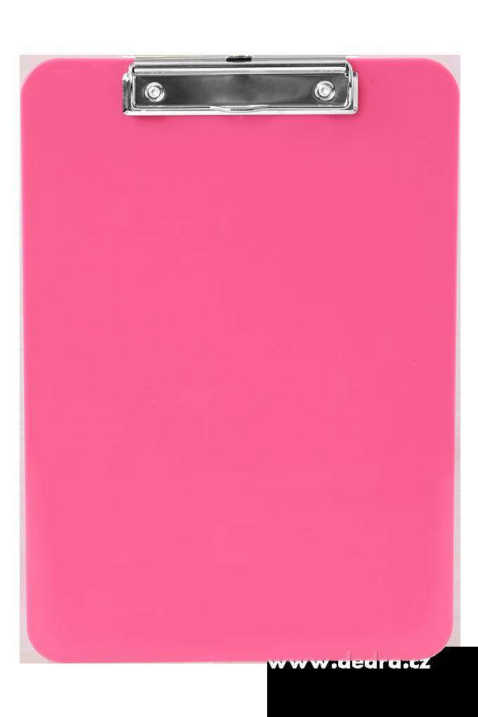 Na stojáka podložka s klipem růžová