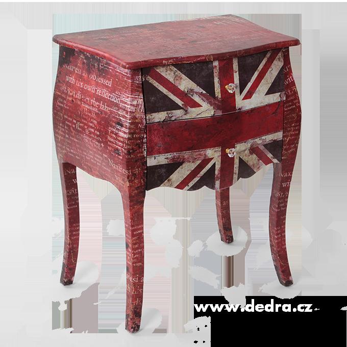 Komoda nebo stolek London style