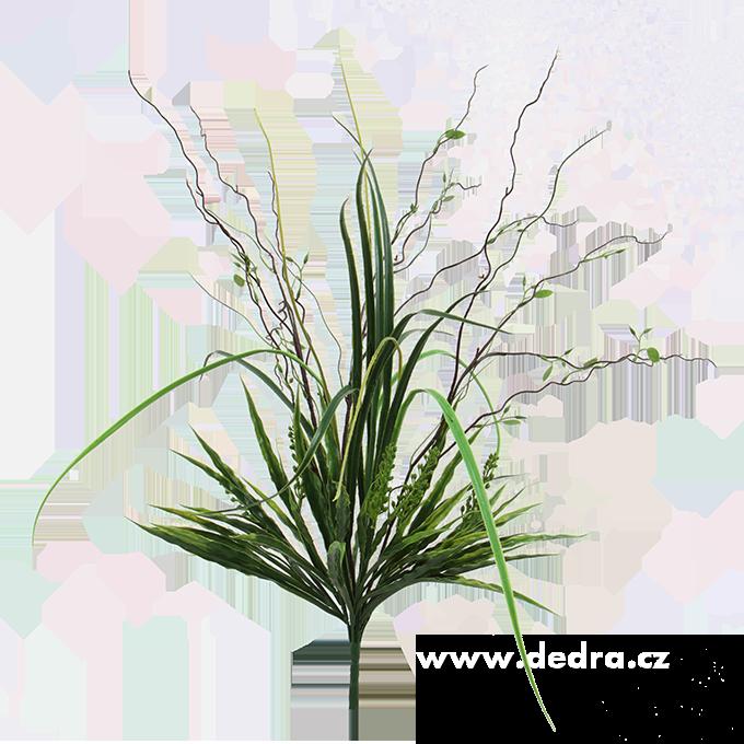 Velký svazek trav výška 76 cm ateliérová květina