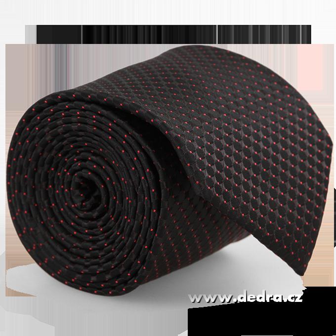 FC86273-5 dielna sada EĽRO kravata, vreckovka a 2 ks gombíkov