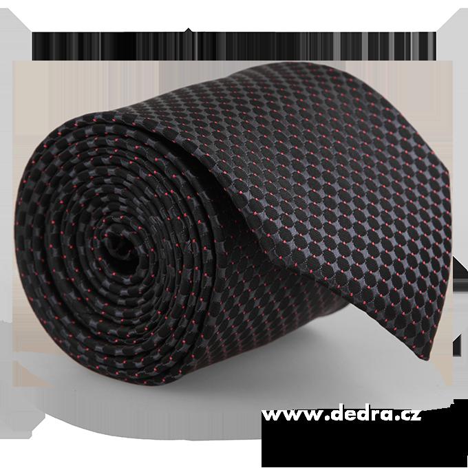 FC86281-5 dielna sada EĽRO kravata, vreckovka a 2 ks gombíkov
