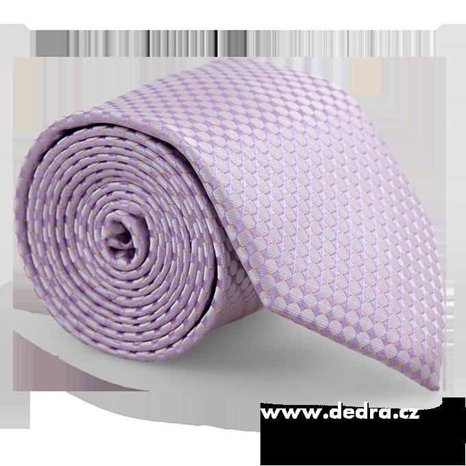 FC86284-5 dielna sada EĽRO kravata, vreckovka a 2 ks gombíkov