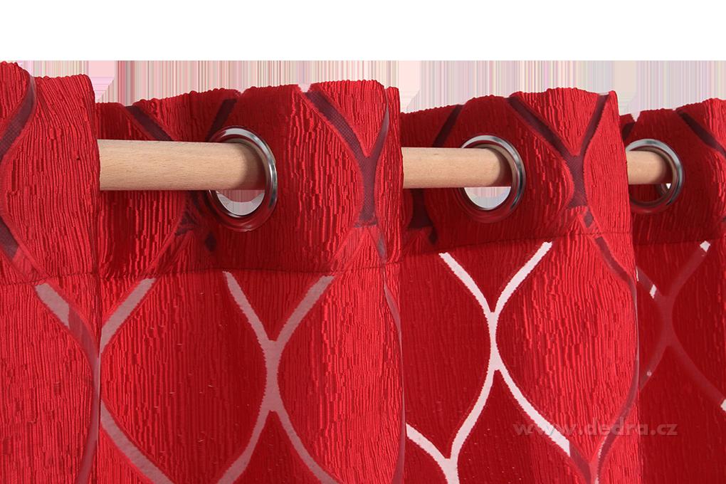 Silk decor, dekorativní závěs