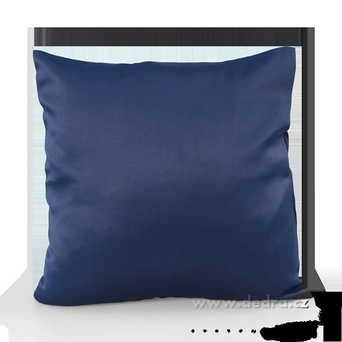 DA10371-Poťah na vankúš z pevnej tkaniny námornej modrý