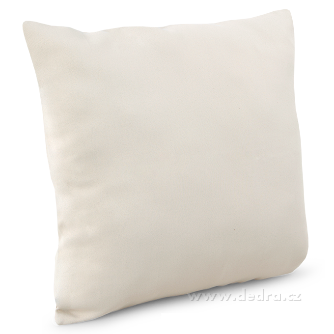 Potah na polštář z pevné tkaniny smetanový