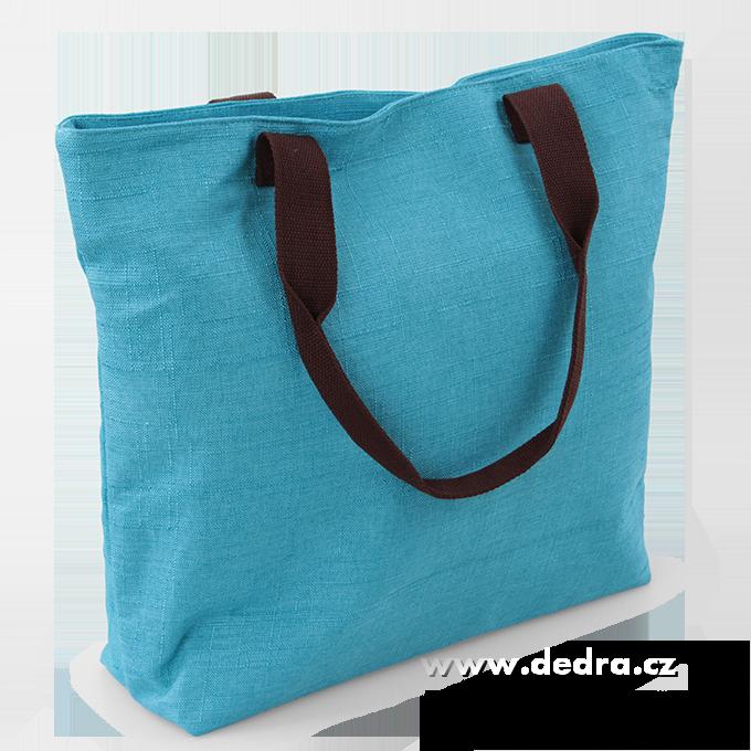 1fb7cade23 ... FC87062-NINA veľká kabelka textilné tyrkysová ...