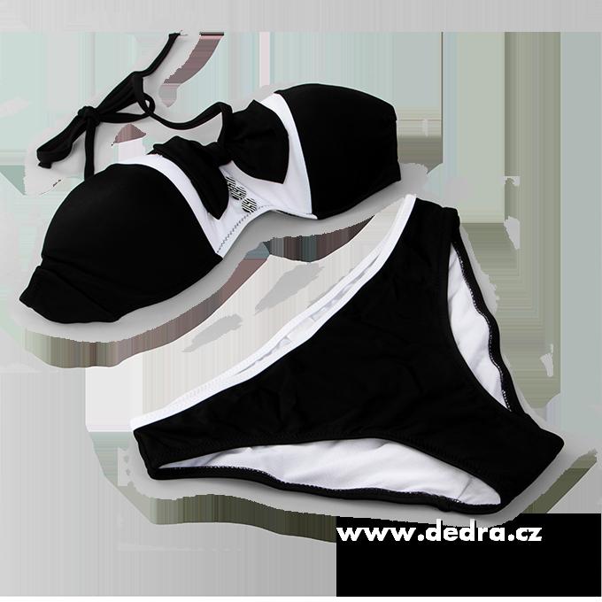 CADWYN plavky dvoudílné černobílé vel.1