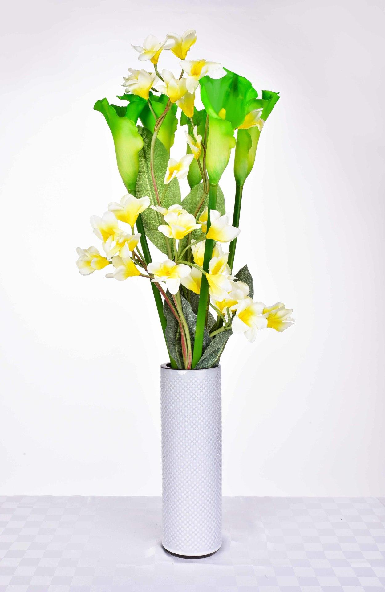 Calla zelená, výška 77 cm