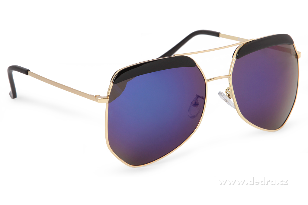 Sluneční brýle PILOTKY 100% UV ochrana baleno v ochr. sáčku