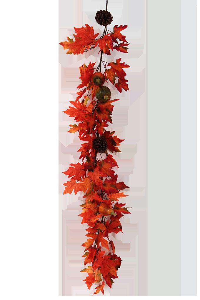 160 cm GIRLANDA, podzimní dekorace na okna, dveře i stěny
