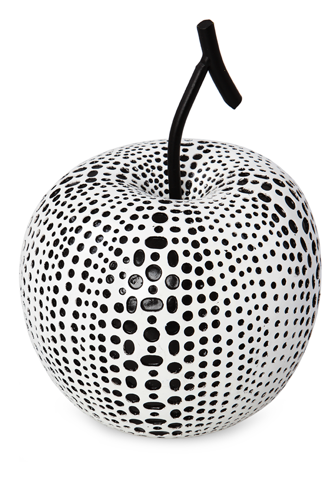 Dřevěné jablko, dekorace MOSAICS