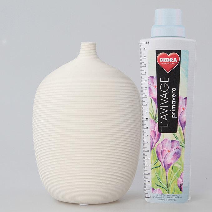 Keramická váza reliéfní struktura  1