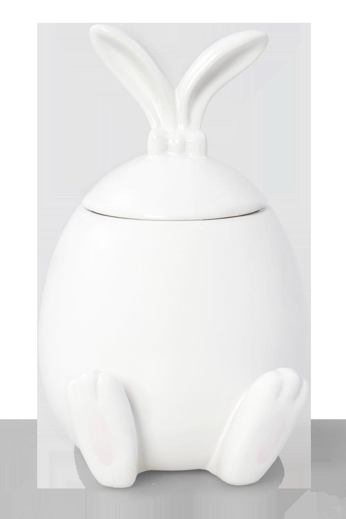 DA8923-Keramická dóza dekoratívne zajačik