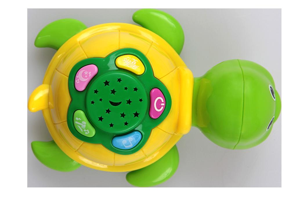 Zvířatko s projekcí, hravá želvička