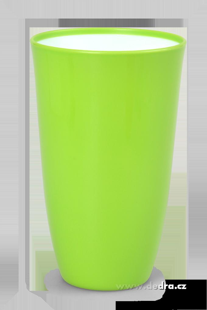 Plastový kelímek 600 ml, zelený