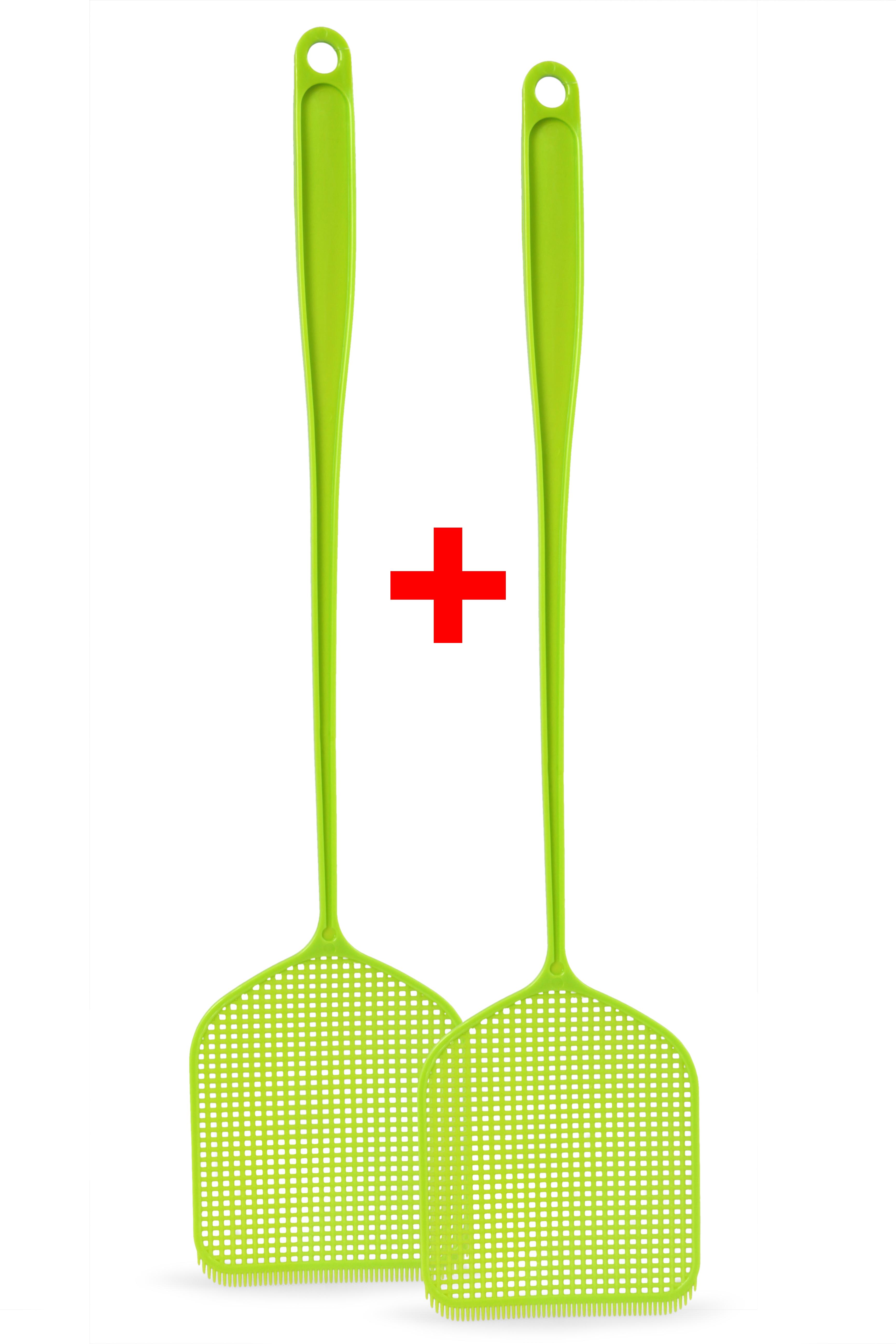 2 ks MUCHOPLAC plácačka na mouchy zelená