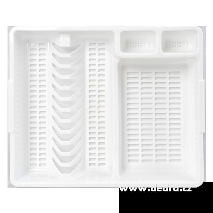 Odkapátor bílý, velký odkapávač na nádobí