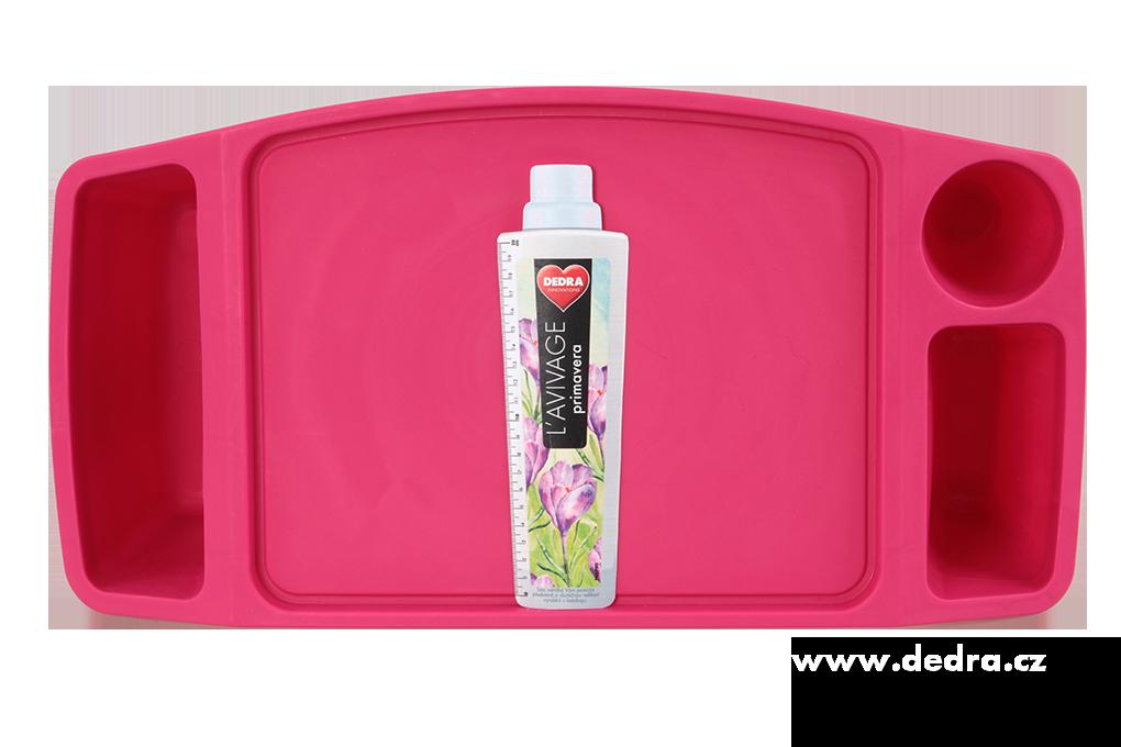 DA89821-Gaučostolek & postelostolek ružový prenosný stolík