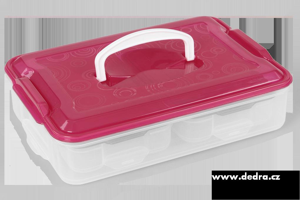 Trionoš růžový, box na potraviny