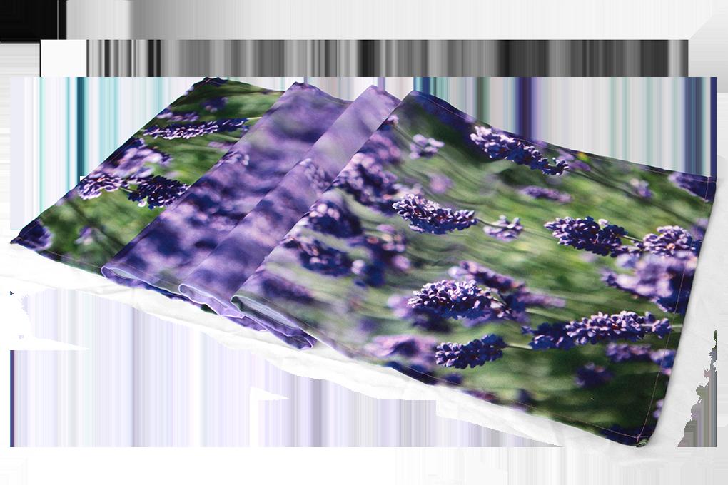 Běhoun na stůl 40x150 cm levandule