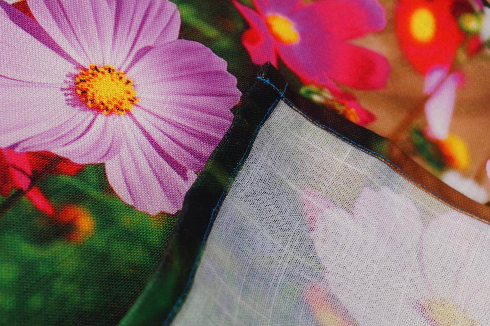 Květinový běhoun, na stůl luční kvítí